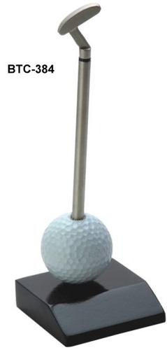 Golf Ball with Stick
