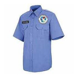 Blue Army Uniform