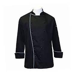 Black Chef Coat
