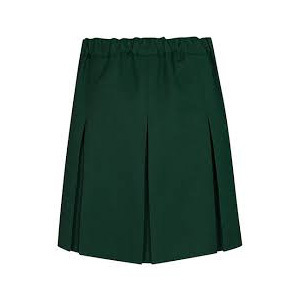 School Green Skirt