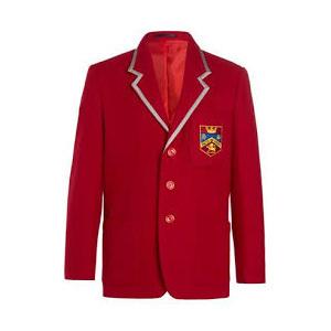 Red School Coat