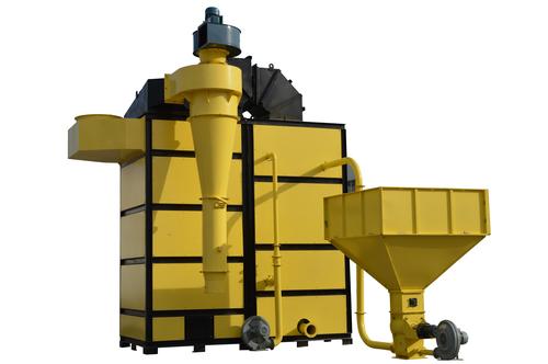 Suspended Husk furnace