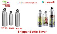 Sipper Bottle Silver