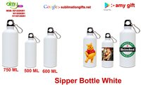 Sipper Bottle White