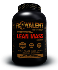 Banana Lean Mass Gainer Powder