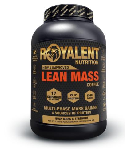 Coffee Lean Mass Gainer Powder
