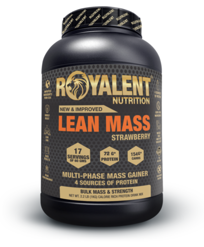 Strawberry Lean Mass Gainer Powder