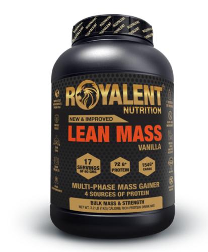 Vanilla Lean Mass Gainer Powder