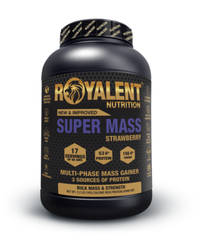 Strawberry Super Mass Gainer Powder