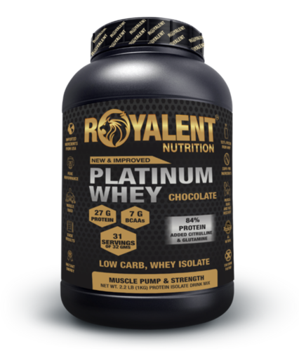 Platinum whey 1kg chocolate
