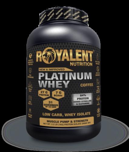 Platinum whey 1kg coffee
