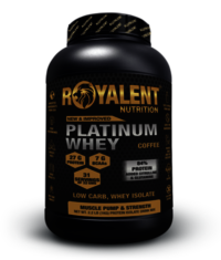 Platinum whey 1kg coffee