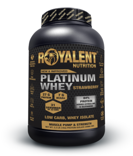 Platinum whey 1kg Strawberry
