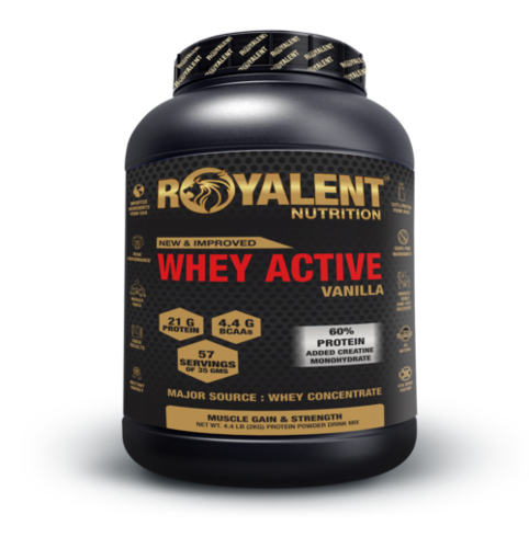 Vanilla Whey Active Powder