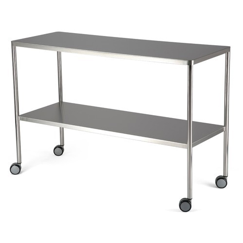Stainless Steel Wheels Table