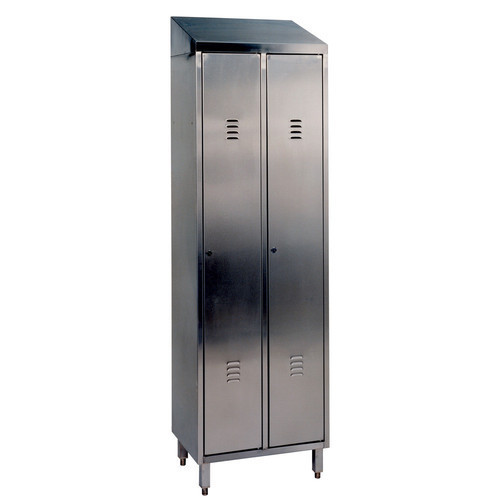 Double Stainless Steel Lockers