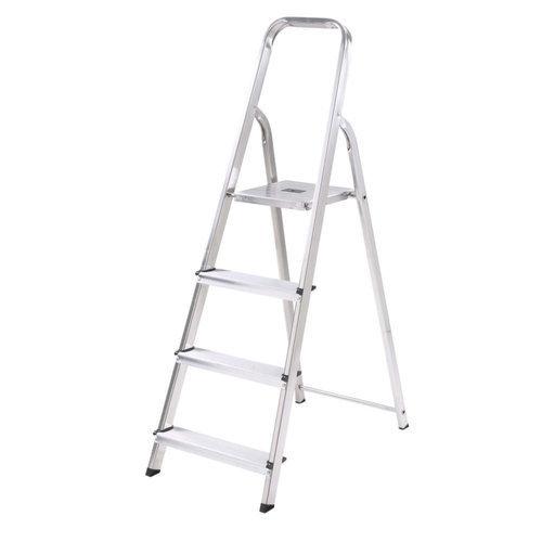Folding Stainless Steel Step Ladder