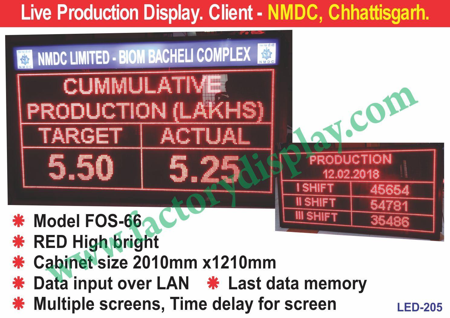 LED Production Display Board Manufacturer,Supplier in Tamil Nadu