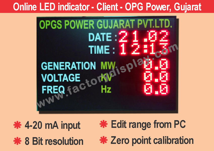 LED Pollution Display