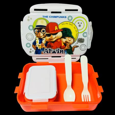 Kids Plastic Tiffin Box