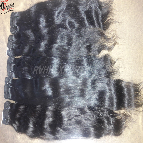 Virgin Brazilian Raw Human Hair Extension
