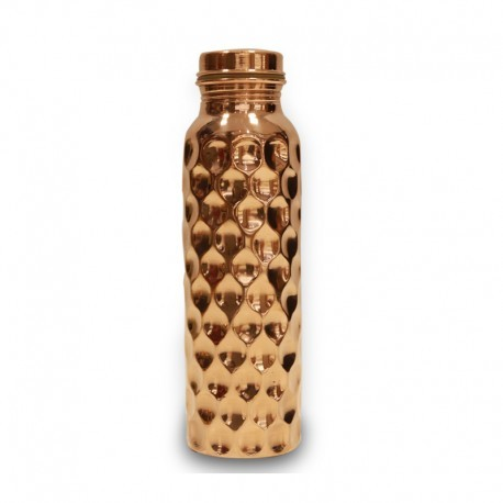 DIAMOND HAMMERED BOTTLE