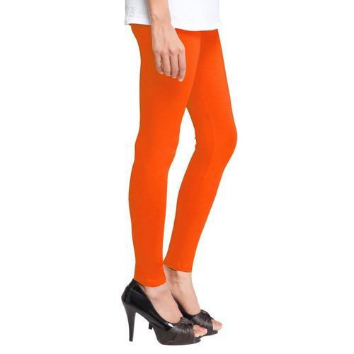 Ladies Cotton Plain Leggings