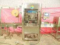 Barrel Neck Sleeve Labeling Machine