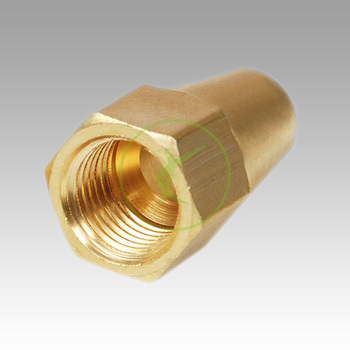 Brass Flare Long Nut