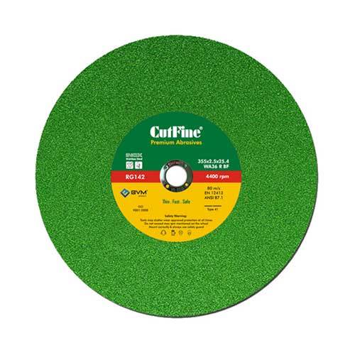 4400 rpm Abrasive Disc