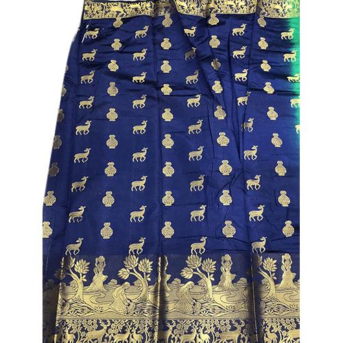 Hiran Green  Blouse Kanjivaram Saree