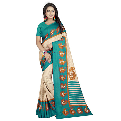 Maaza Chiku Rama Malgudi Silk Saree