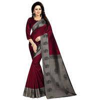 Mayuri Red Mysore Art Silk Saree
