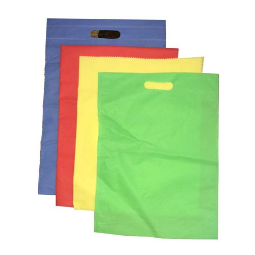 D Shape Non Woven Carry Bag