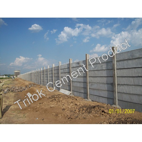 House Prestressed Boundary Walls