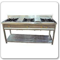 Three Burner Range Stove