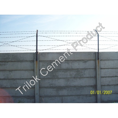 RCC Compound Cement Wall