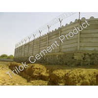 Cement Security Wall