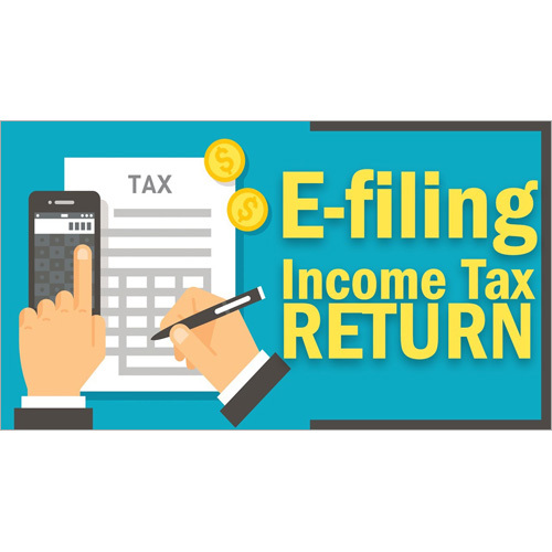 E-Filling Income Tax Return Service