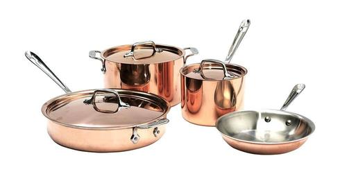 Copper Cooking Set