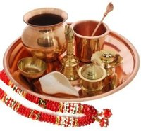 Copper Pooja Thali