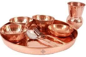 Copper Dinner Set