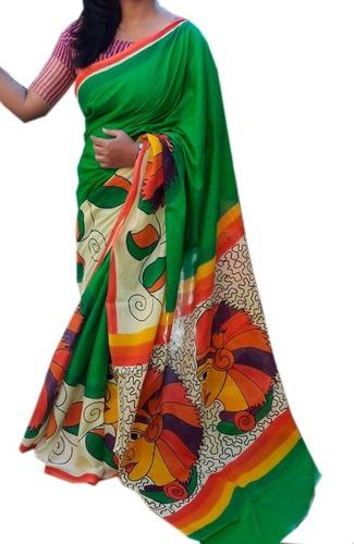 Madhubani Hand Printing Saree