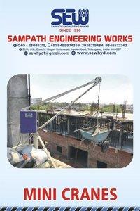 Building Material Lift Crane