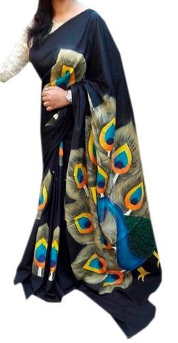 Batik Hand Block Print Sarees