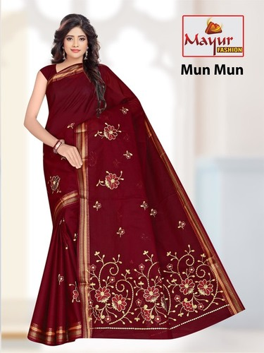 Cotton Work Saree Manufacturer