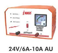 Industrial automatic battery charger