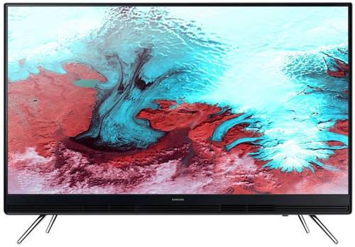 Black Samsung 108Cm (43 Inch) Full Hd Led Tv