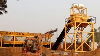 Stationary Concrete Mixing & Batching Plant