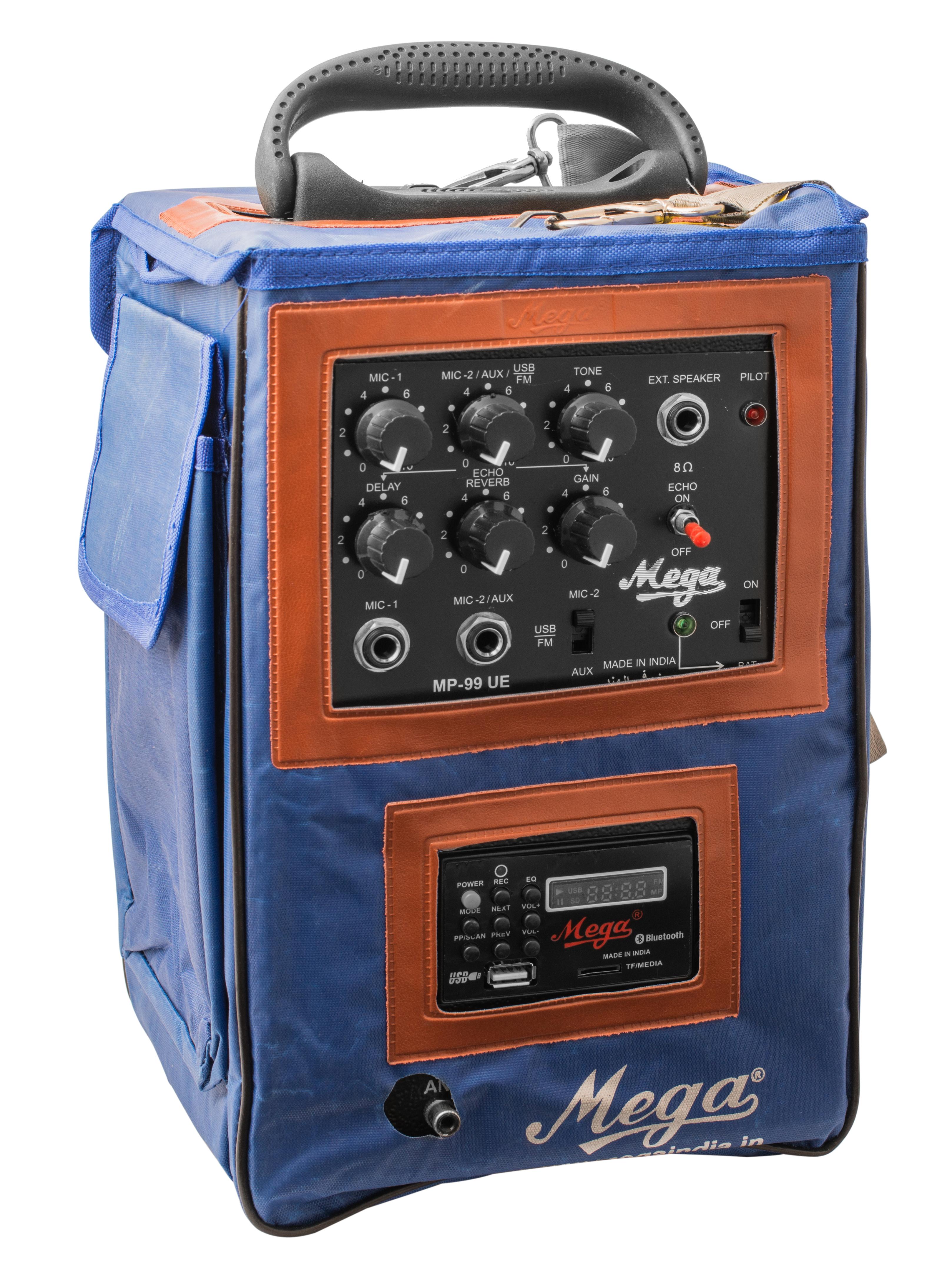 MP-99UE WITH 1 EXTERNAL SPEAKER